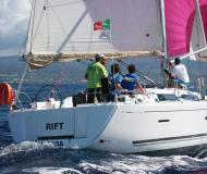 Sailing boat Dufour 405 for hire in Horta Marina