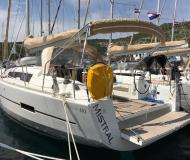 Segelboot Dufour 410 Grand Large chartern in Primosten