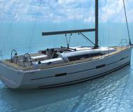 Yacht Dufour 412 available for charter in Ajaccio