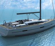 Sailing yacht Dufour 412 available for charter in Puerto Del Rey Marina