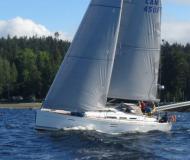 Segelboot Dufour 45 E Yachtcharter in Granville Insel Boatyard