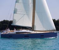 Sailing yacht Dufour 460 Grand Large for rent in Marina Kremik