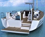 Sailing yacht Dufour 460 Grand Large for rent in Nikiti