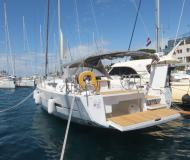 Yacht Dufour 560 Grand Large available for charter in Marina Zadar