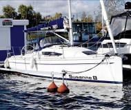 Segelboot Elan 310 Yachtcharter in Rostocker Stadthafen