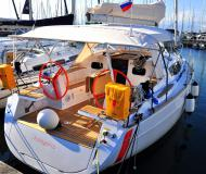 Sailing yacht Elan 354 Impression available for charter in Marina Izola