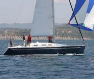 Segelboot Elan 37 Yachtcharter in Real Club Nautico de Vigo