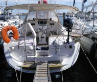 Sailing boat Elan 384 Impression available for charter in Lavrio