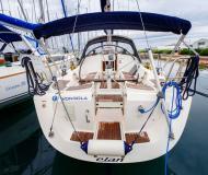 Sail boat Elan 40 available for charter in Marina Dalmacija