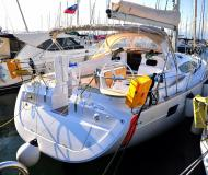 Sail boat Elan 444 Impression available for charter in Izola