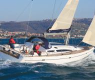 Sailing boat Elan 450 available for charter in Port Santa Margherita