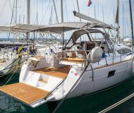 Sailing boat Elan 45 Impression available for charter in Kastela
