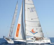 Sail boat First 25 available for charter in Portisco