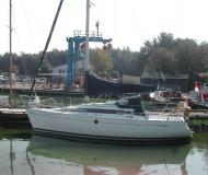 Sailing boat First 285 for hire in Yerseke Harbour