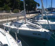 Sailing yacht First 31.7 for rent in YC Marina
