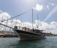 Yacht Gulet available for charter in Vlychada Port