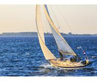 Sailing yacht Halberg Rassy 42F for rent in Yerseke Harbour