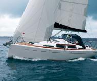 Yacht Hanse 345 Yachtcharter in Marina Lefkas