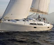 Sailing yacht Hanse 350 for charter in Yacht Harbour Hohe Duene