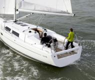 Sailing yacht Hanse 375 for hire in Les Marines de Cogolin
