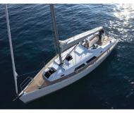 Sailing yacht Hanse 375 available for charter in Les Marines de Cogolin