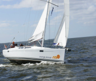 Yacht Hanse 385 for charter in Marina Jachtwerf Maronier
