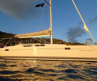 Sailing yacht Hanse 385 available for charter in Road Harbour