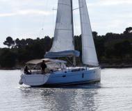 Sailing yacht Hanse 445 for charter in Marina Mandalina