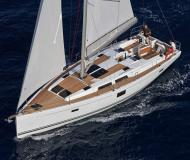 Sailing boat Hanse 455 available for charter in Kortgene