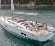 Sailing boat Hanse 588 available for charter in Marina Kastela