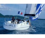 Sailing boat Harmony 38 available for charter in Port Louis Marina