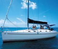 Sailing boat Harmony 42 available for charter in Le Marin
