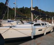 Segelboot Hunter 310 Yachtcharter in Koh Chang Marina Resort