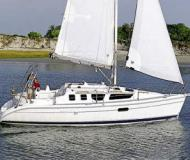 Segelyacht Hunter 320 chartern in Yachthafen Niro Petersen