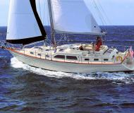 Island Packet 445 Segelyacht Charter Red Hook