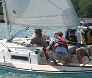 Sailing yacht J 22 for rent in Belmont Harbour