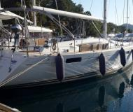Sailing yacht Jeanneau 53 for rent in Ece Saray Marina