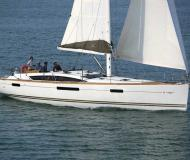 Yacht Jeanneau 53 available for charter in Kos Marina