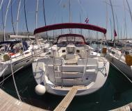 Sailing boat Jeanneau 53 for hire in Kastela
