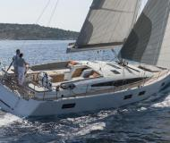Yacht Jeanneau 54 available for charter in Tropea Marina