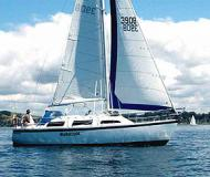 Yacht Lotus 9.2 Yachtcharter in Gulf Harbour Marina