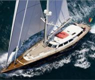 Sailing yacht available for charter in La Spezia