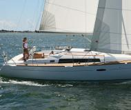 Sailing yacht Oceanis 37 for hire in Port Hamble Marina