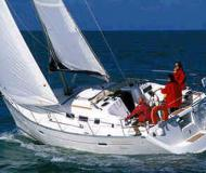 Yacht Oceanis 373 available for charter in Grand Anse