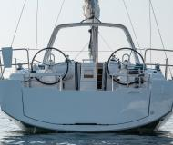 Sailing boat Oceanis 381 available for charter in Trapani Yacht Harbour