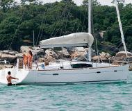 Sailing boat Oceanis 40 for rent in Port Goecek Marina