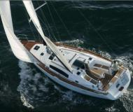 Sail boat Oceanis 40 for hire in Lagoon Marina
