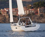 Sail boat Oceanis 41 available for charter in Gouvia