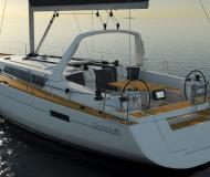 Yacht Oceanis 411 for hire in Dubrovnik Marina