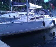 Sail boat Sun Light 31 for rent in Dyvig